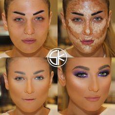 NEW MAKE UP INSPIRATION by samerkhouzami #beauty