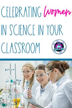 Are you looking for some ideas and inspiration to celebrate the International Day of Women and Girls in Science (February 11th) in your classroom? In this blog I share some of my favorite ideas and links. You will get information on documentaries and movies, free downloads like posters and much more! High School Chemistry, High School Biology, Biology Teacher, Chemistry Teacher, Middle School Science, Science Websites For Kids, Science Games For Kids, Easy Science Experiments, Science Classroom