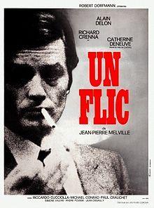 """Un flic"" last film Jean Pierre Melville directed... Starring Alain Delon"