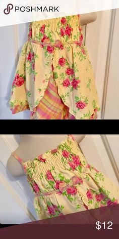 Penelope Mack Dress Size 18 months Floral Charming floral sundress in floral and plaid. Size 18 months. Penelope Mack design penelope Mack Dresses Casual