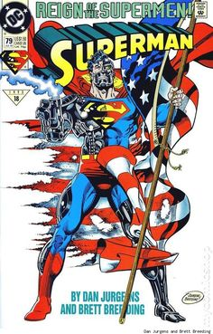 Cyborg Superman byDan JurgensandBrett Breeding