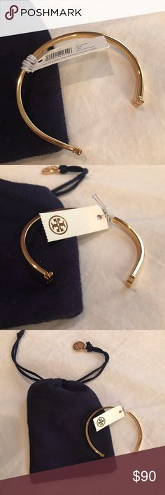 eef6e052746 Brand new tory burch adjustable bangle Brand new with tags. Comes with dust  bag.