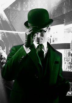 Corey Michael Smith as Edward Nygma / The Riddler (Gotham) Harry Houdini, Marvel Dc, Batman Riddler, The Riddler, Edward Nygma Gotham, Gotham Tv Series, Cory Michael Smith, Gotham Villains, Gotham Girls