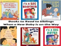 Books to read to siblings when a new baby is on the way from Growing Book by…