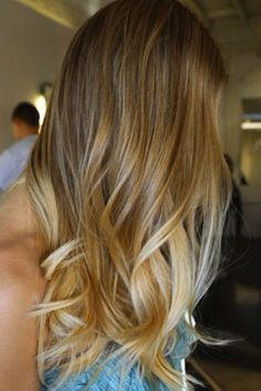 blonde ombre on bronde hair