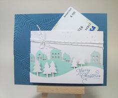 Maddiebug Designs - November 2016 Paper Pumpkin kit, alternative idea - gift card holder, Stampin' Up!
