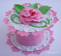 Recycled CD Craft- CD Box- Use old CDs to make a useful and pretty Box