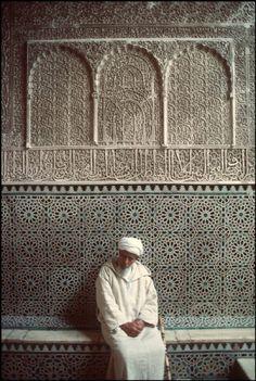 Student in almadrassa ben Youssef , Marrakech
