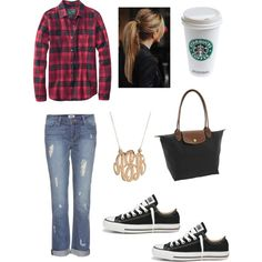 fall outfit minus the Starbucks cup of course an change with coffee waves! Duuh