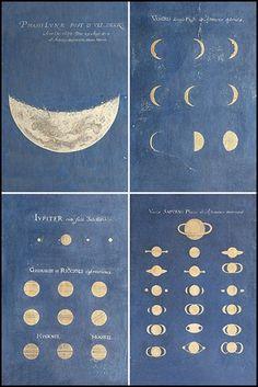 studi fasi lunari pianeti - Google Search