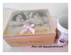 Tea box Christening Decorations, Tea Box, Decorative Boxes, Handmade, Home Decor, Hand Made, Decoration Home, Baptism Decorations, Tea Caddy