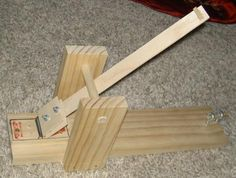 Mousetrap Catapult Plans