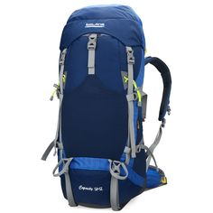 Bolang Backpacker Internal Frame Hiking Backpacks Camping Backpack Outdoor Gear 8468 ** Special product just for you. Satchel Backpack, Hiking Backpack, Canvas Backpack, Travel Backpack, Leather Backpack, Outdoor Backpacks, Backpack For Teens, Camping And Hiking, North Face Backpack