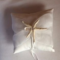 Ring Bearer Pillow For Beach Themed Wedding $38
