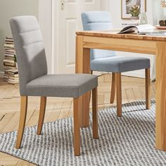 Stuhl Nina 2er Set • Braun • Stoff   günstig bei Segmüller Shops, Dining Chairs, Furniture, Home Decor, Dining Room, Cantilever Chair, Chair, Remodels, Dining Rooms