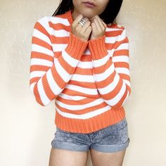 • J. Crew • Striped Sweater The best time to wear a striped sweater.....is all the time.... J. Crew Sweaters