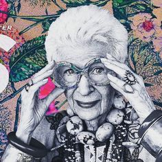 Watching Iris with @seaofyarn  IRIS is a wonderful film about Iris Apfel the quick-witted flamboyantly dressed 93-year-old #NewYork #style maven. More than a #fashion #film the #documentary is a story about #creativity and how even in Iris' dotage a soaring free spirit continues to #inspire.