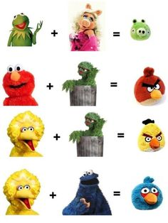 Angry Birds in real life!