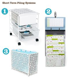 fun/functional filing systems