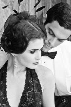 Photography By Megan from Dan. Mens Attire, Gatsby, Headpiece, Vintage Shops, Boudoir, Dan, Floral Design, Hair Makeup, Stylists