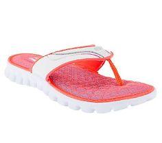 Skechers EZ Flex Summer Solstice Thong Sandals w/ Memory Foam