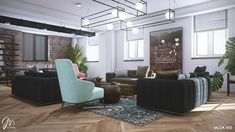 Studios Architecture, Eames, Conference Room, Lounge, Interior Design, Chair, Table, Furniture, Home Decor