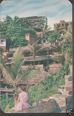 HOTEL EL MIRADOR ACAPULCO MEXICO POSTCARD | eBay