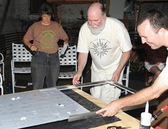 Learning to make a solar power panel for your domestic dwelling. http://how-to-make-a-solar-panel.us/ MAKING OF A SOLAR PV PANEL WORKSHOP