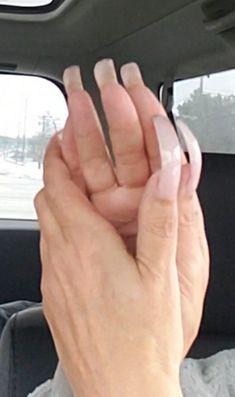 Long Nails, Slim, Finger Nails