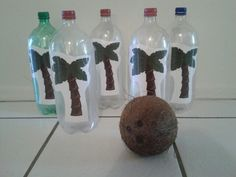 Coconut bowling for Hawaiian luau themed preschool party! Coconut bowling for Hawaiian luau themed preschool party! Coconut bowling for Hawaiian luau themed preschool party! Coconut bowling for Hawaiian luau themed preschool party!