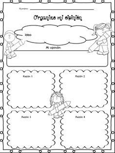 Organizar opinión. Adaptación.Original en inglés en este mismo tablero.