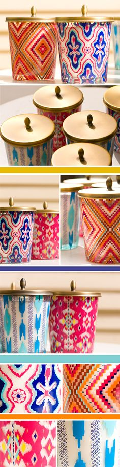 Boho Chic candles would have a place in my dream beach house. #dream summer home, #Temple & Webster, #ISCD