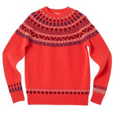 Tipi Sweater - Red - Donna Wilson