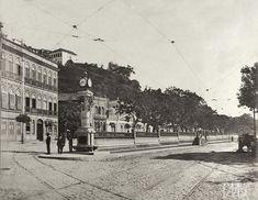 foto de Augusto Malta. Relógio da Glória, Rio de Janeiro - 1910 - Acervo IMS - 123456