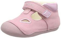 nice GeoxB TUTIM A - patucos y zapatillas de estar por casa Bebé-Niños , color Rosa, talla 20 EU