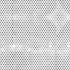 Polka dot print.