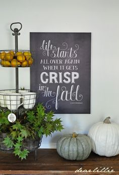 Fall Chalkboard Canvas by Dear Lillie Chalkboard Canvas, Fall Chalkboard, Chalkboard Designs, Chalkboard Ideas, Chalkboard Quotes, Thanksgiving Decorations, Seasonal Decor, Holiday Decor, Rustic Thanksgiving