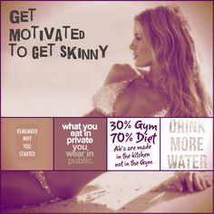 Get motivation for a healthy way how to #get #skinny #fast