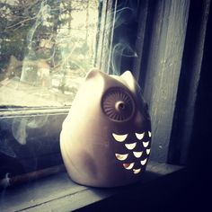 Owl Incense Burner~ https://www.facebook.com/thesoulfuleclectic