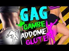 ALLENAMENTO GAG ☼ESTATE☼ ! ESERCIZI PER GAMBE ADDOMINALI E GLUTEI !! - YouTube