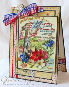 Scraps of Life: Really Reasonable Ribbon May Blog Hop. Her cards are always so beautiful.