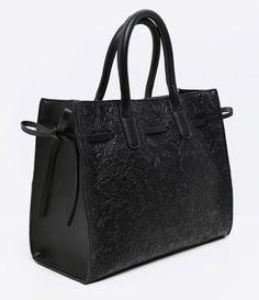 bolsa pasta com textura
