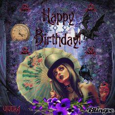 Birthday is today! Happy Birthday Emoji, Best Birthday Wishes, Happy Birthday Quotes, Happy Birthday Greetings, Birthday Celebration, Holiday Gif, Happy Birthdays, Birthday Ideas, Celebrations