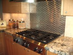Precious Stove Backsplash Stainless Steel With Marble Material In Kitchen Table And Tile Also Wooden Wall Cupboard
