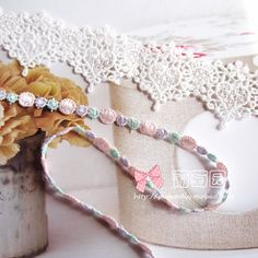 Utsøkt håndlaget silke blondere DIY Materialer jeg til - Taobao Crochet Necklace, Sewing, Accessories, Jewelry, Dressmaking, Jewlery, Crochet Collar, Couture, Jewels