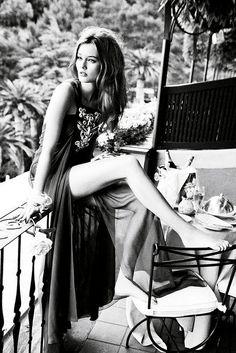 Monica Jac Jagaciak for Dior