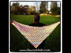Crochet Flower Lattice Shawl I would like to make this, but the directions are three or four screens long, and I cannot download this one!