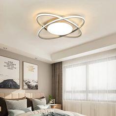 Gyönyörű mennyezeti csillár strapabíró alumíniumból. Ceiling Lights, Lighting, Modern, Home Decor, Trendy Tree, Decoration Home, Room Decor, Lights, Outdoor Ceiling Lights