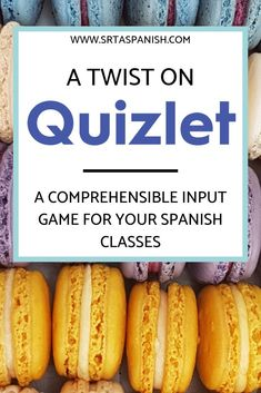 "Circumlocution Game: Scaffolding ""Head's Up"" with Quizlet - SRTA Spanish Spanish Classroom Activities, Spanish Teaching Resources, Teaching Strategies, Listening Activities, Class Activities, Spelling Activities, Classroom Games, Teaching Aids, Google Classroom"