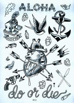 Duncan X - Tattoo Prints